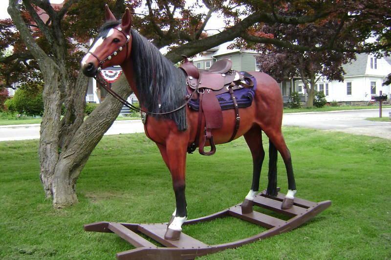 Life Size Rocking Horse Toys Vintage